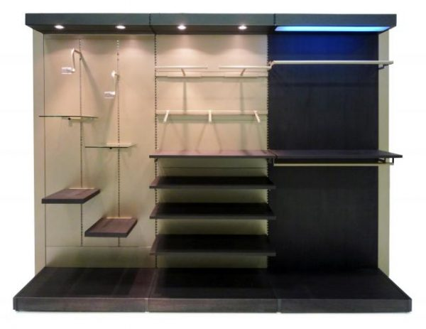 Lightened Shelves