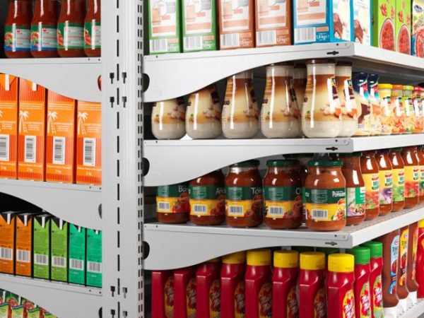 Canned Food Shelves