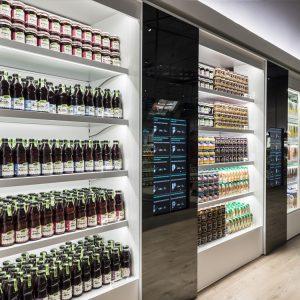 Smart Shelves for Juice